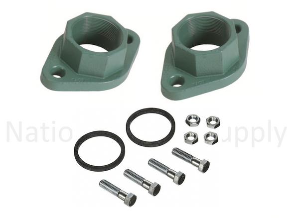 """1600-031RP Taco Cast Iron Pump Flange Set 1-1/2"""""""