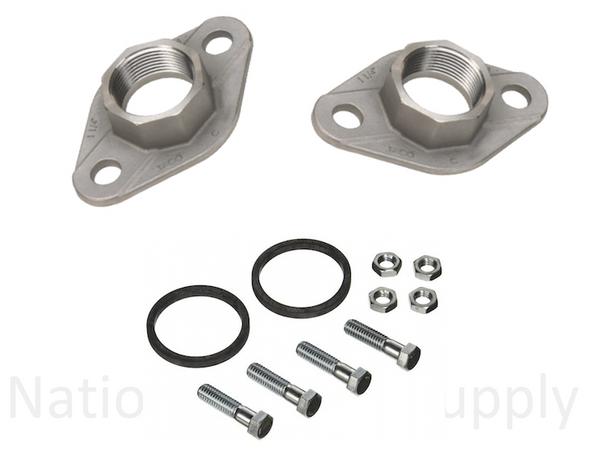 "1600-031SRP Taco Stainless Steel Pump Flange Set 1-1/2"""
