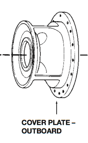 P75135 Bell & Gossett VSC/VSCS Outboard Volute Cover Plate