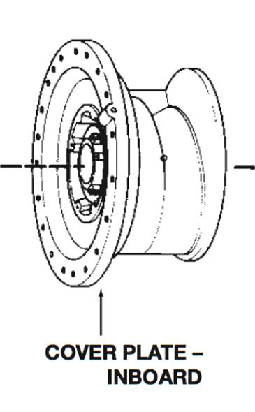 P75137 Bell & Gossett VSC/VSCS Inboard Volute Cover Plate