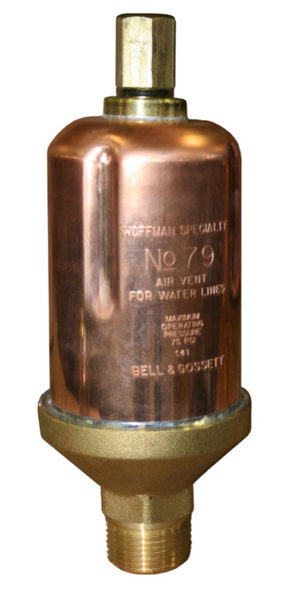 401488 Hoffman Model 79 Water Main Vent Valve