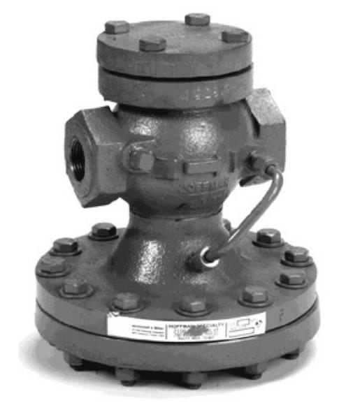 """402649 Hoffman Series 2150 Pressure Reducing Main Valve 1-1/4"""" NPT"""