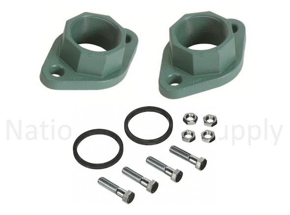 1600-174RP Taco Cast Iron Pump Flange Set 2""
