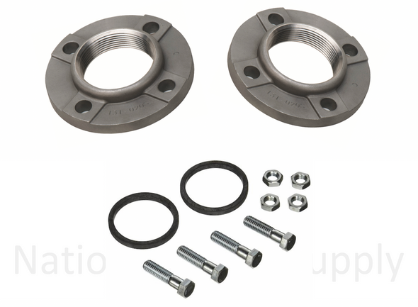1600-034SRP Taco Stainless Steel Pump Flange Set 3""