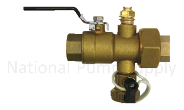 "Bell & Gossett Model UBV-1"" SWTF Combination Shut Off Valve"