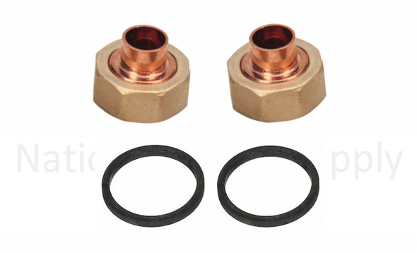 "UFS-050S Taco 1/2"" Union Sweat Fitting Assembly Set"