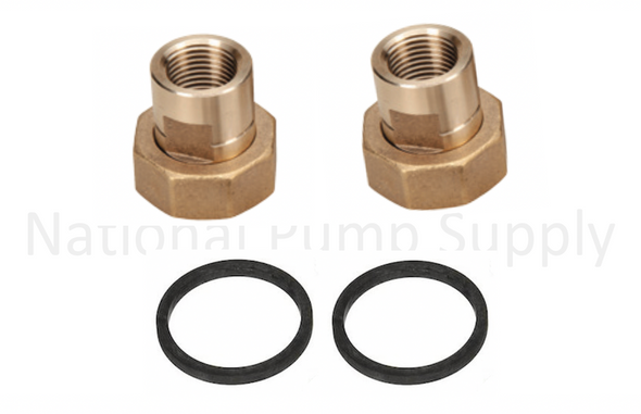 "UFS-050T Taco 1/2"" Union FNPT Fitting Assembly Set"