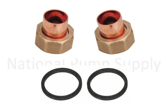 "UFS-075S Taco 3/4"" Union Sweat Fitting Assembly Set"