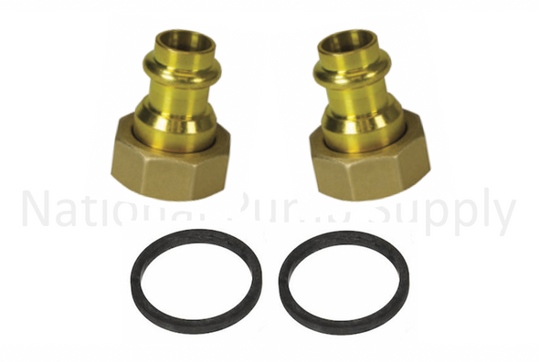 "UFS-075P Taco 3/4"" Union Press Fitting Assembly Set"
