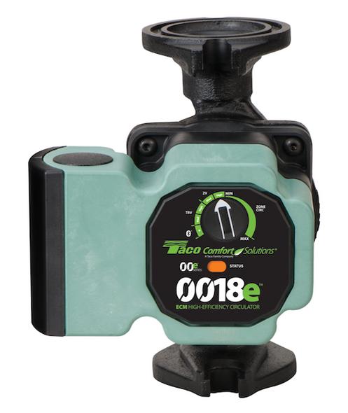 0018e-2F4 Taco Cast Iron ECM High Efficiency Circulator Bluetooth