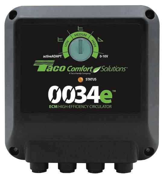 0034e-F2 Taco ECM High Efficiency Circulator Pump Analog