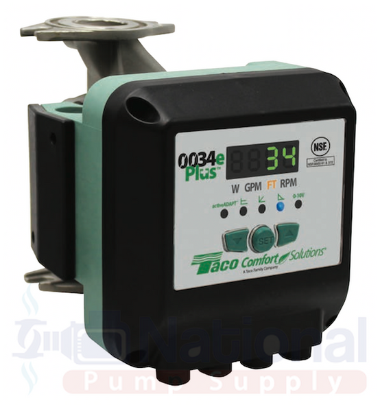 0034eP-SF2 Taco ECM High Efficiency Circulator Pump Digital