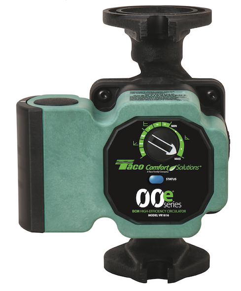 VR1816-HY2-FC2A00 Taco ECM High Efficiency Infinitely V-Spd Pump