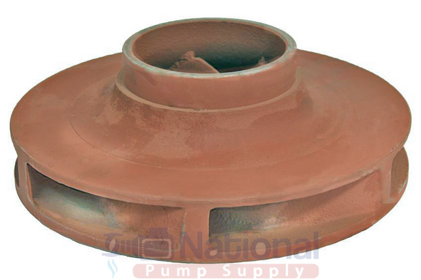 """1630-022RP Taco Cast Iron Impeller Assembly 4.9"""""""