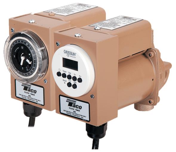 003-SC4-4PNP Taco SS Plumb N Plug Pump Line Cord W/Analog Timer/IFC Union