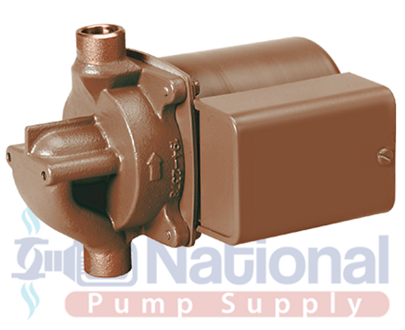 "003-BC4-1IFC Taco Bronze Circulator Pump 1/2"" SWT"