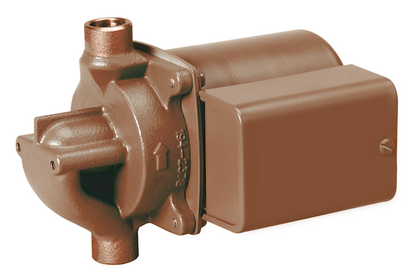 "006-BC7-IFC Taco Bronze Circulator Pump 3/4"" SWT"