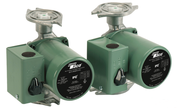 0015-MSSF3-1IFC Taco Stainless Steel Pump 3-Speed Flanged Rotated