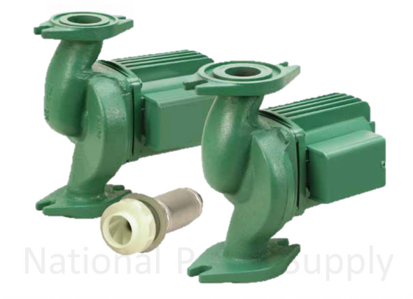 0012-F4-4 Taco Cast Iron Pump Flanged Rotated