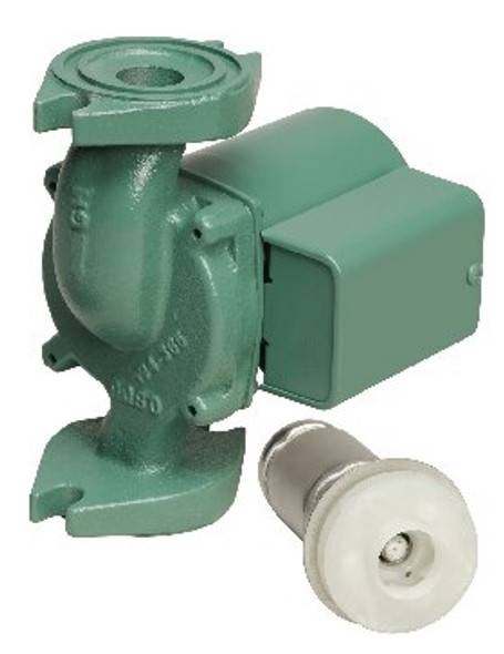 008-F6-3IFC Taco Cast Iron Circulator Pump Flanged Rotated
