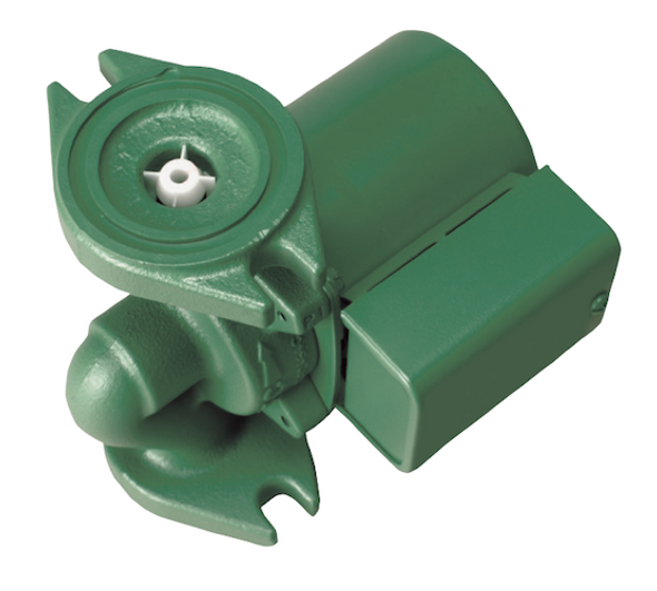006-F7-IFC Taco Cast Iron Circulator Pump Flanged Rotated