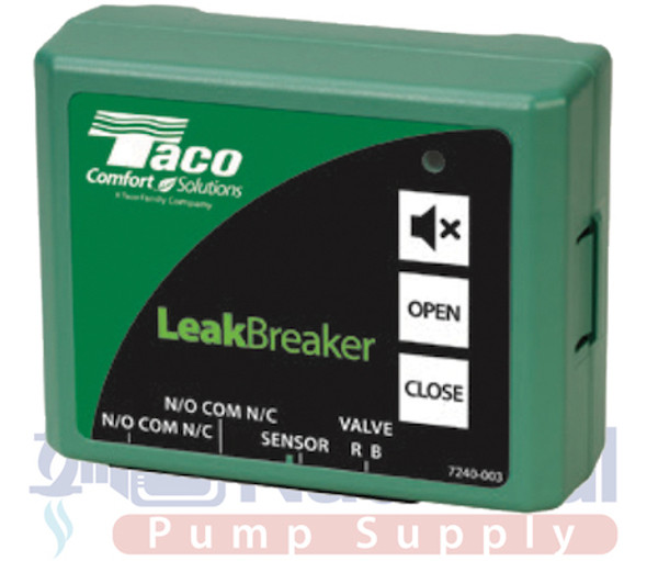 LB-075-H-1LF Taco LeakBreaker Water Heater Shut-Off Valve W/Control & Sensor