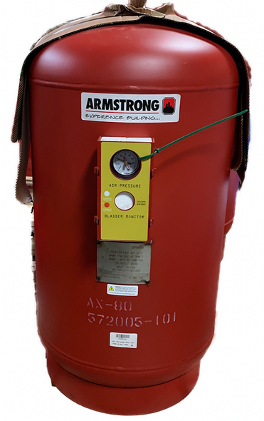 572005-101 Armstrong AX-80V Pre-charged ASME Expansion Tank