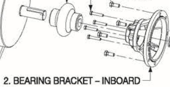 P5001265 Bell & Gossett VSX Series Inboard Bearing Bracket