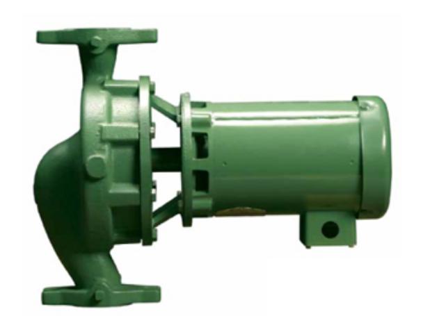 1935E1E1 Taco Cast Iron Centrifugal Pump 2HP 3 Phase