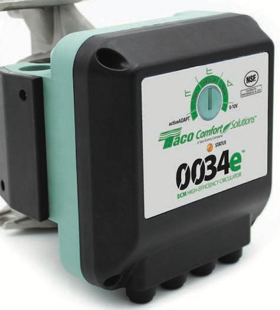 0034e-SF2 Taco ECM High Efficiency Circulator Pump Analog