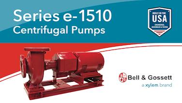Bell & Gossett e-1510 Centrifugal Pump