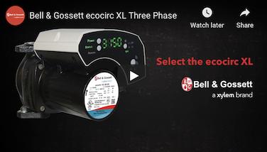 Bell & Gossett EcoCirc XL Pump