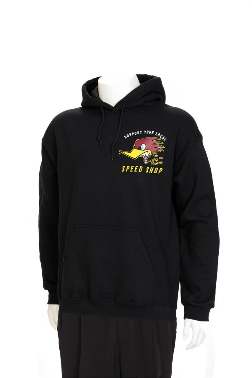 Support Your Local Speed Shop - Hooded Sweatshirt