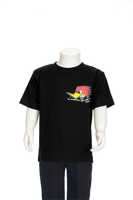 Mr. Horsepower Traditional Design kid's T-Shirt Black
