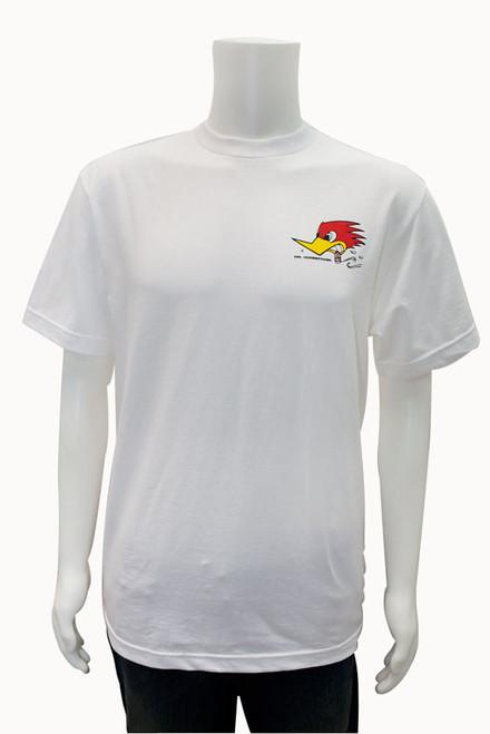 Mr. Horsepower White Traditional  T-Shirt