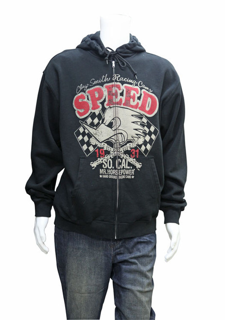 "Mr. Horsepower ""SPEED"" Hoodie Sweat Shirt"