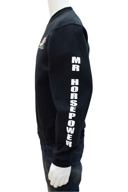 Mr. Horsepower Black Sweat Shirt