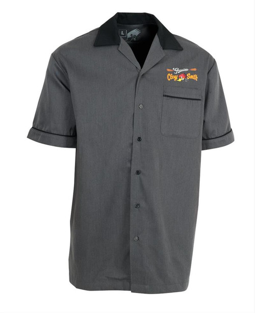 Genuine Clay Smith Cams, Button Front Dress Shirt