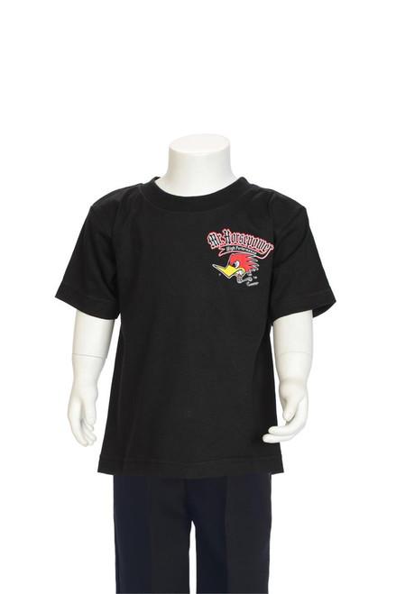 Mr. Horsepower Speed Team Black Children's T-Shirt