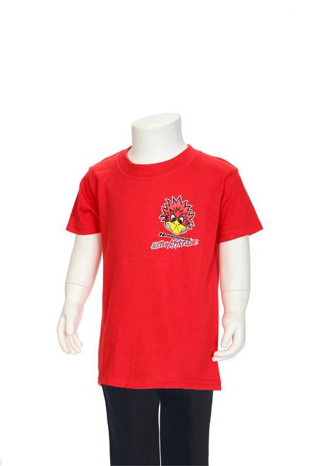 Mr. Horsepower with Attitude Red Children's T-Shirt