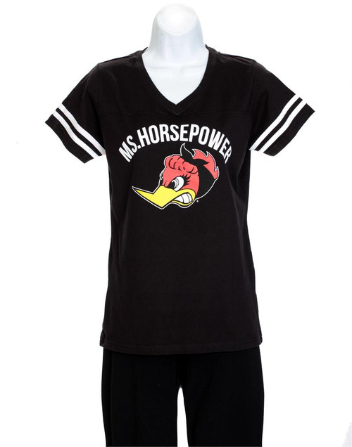 "Ladies ""Ms Horsepower"" Football Jersey"