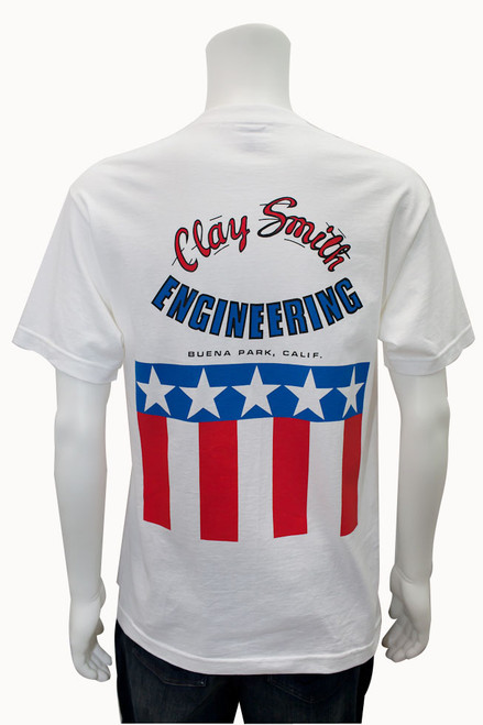 Mr. Horsepower Original Stars and Stripes T-Shirt