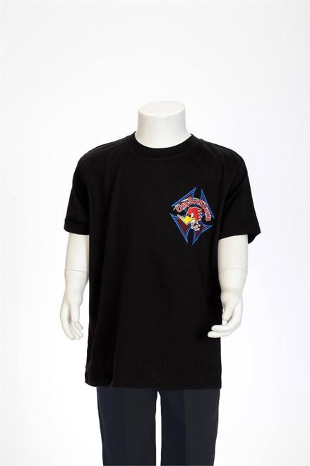 Clay Smith Cams Tribal Pinstripe Black Children's T-Shirt