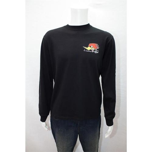 Long Sleeve Black Children's T-Shirt