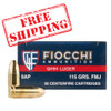 Fiocchi 9mm 115gr Full Metal Jacket Case of 1000 Rounds