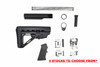 AR-15  HERCULES  Stock Kit with Zaviar Lower Parts Kit