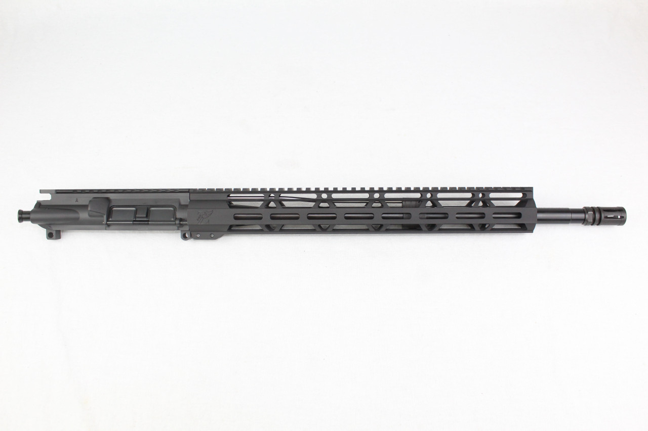 "Z16 'Operator Series' 18"" Nitride .223 Wylde SOCOM Upper Receiver with 15"" MLOK Handguard"