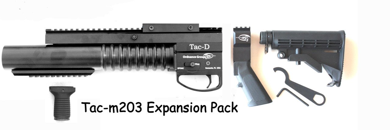 Tac-m203 37mm Underbarrel Launcher / STANDALONE CONFIGURATION