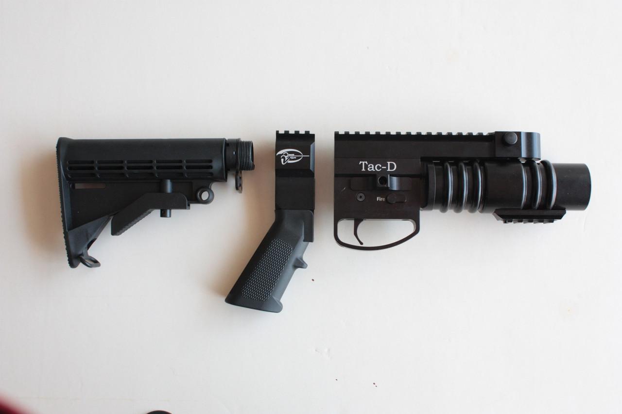 Tac-D Pivot 37mm UNDERBARREL LAUNCHER / STANDALONE CONFIGURATION