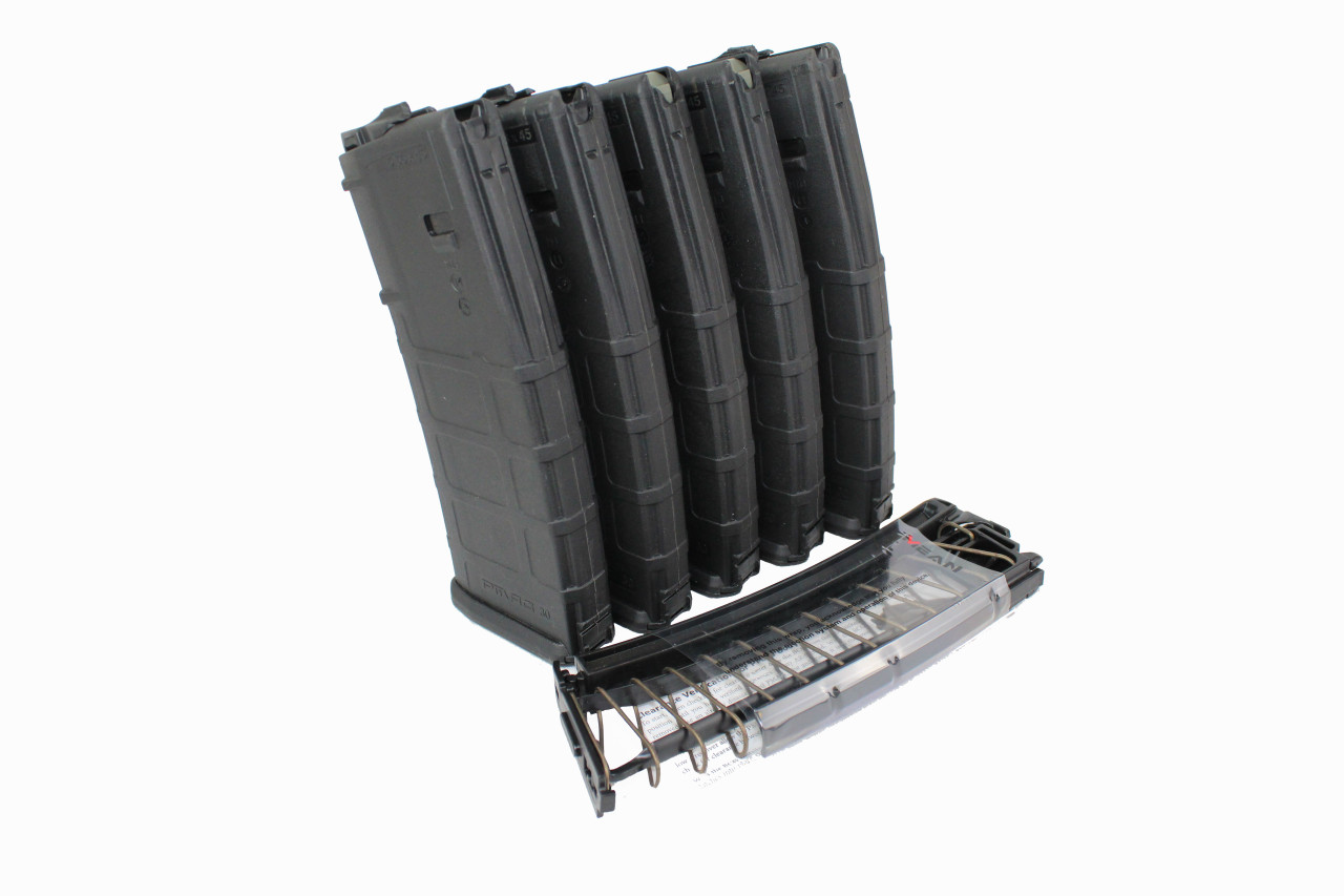MEAN EndoMag™ (5 Pack) 9MM 30 Round PMAG Magazine Insert with PMAG Housing